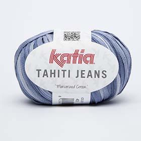 lanas y ovillos Katia-Tahiti Jeans